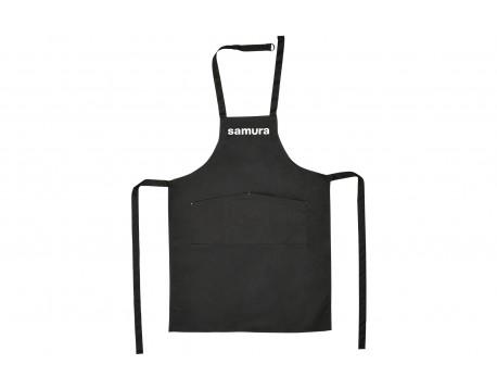 """Кухонный фартук """"черный"""" Samura Большой """"L"""""""