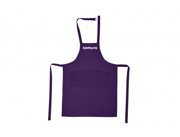 """Кухонный фартук """"фиолетовый"""" Samura Большой """"L"""""""