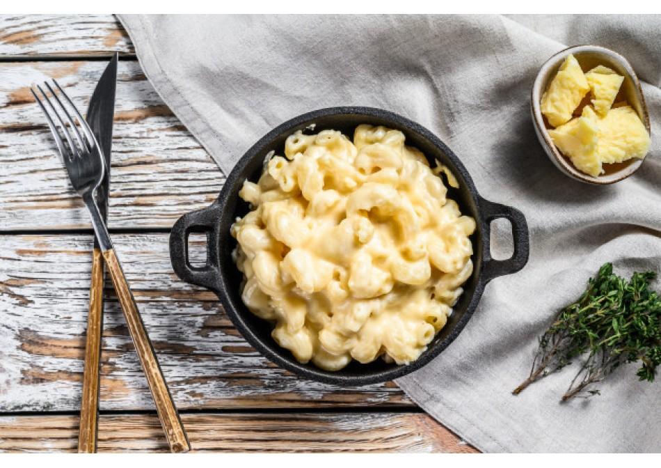 #ГОТОВИМСSAMURA Американские макароны с сыром