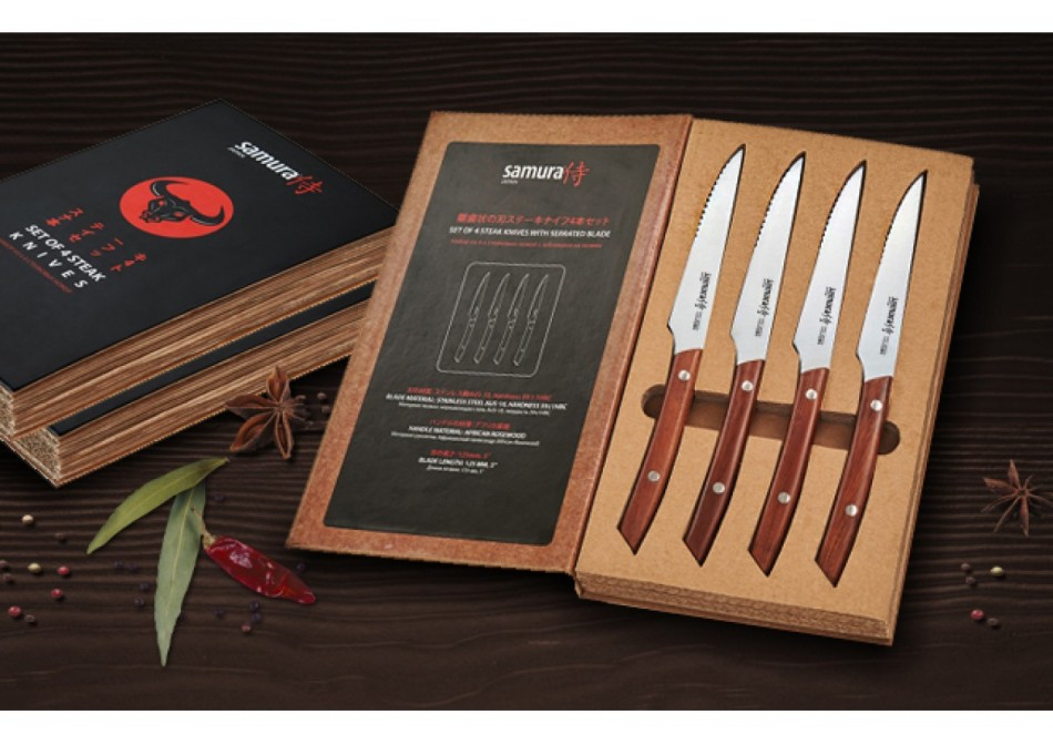 Новинка Samura - Стейковый набор ножей