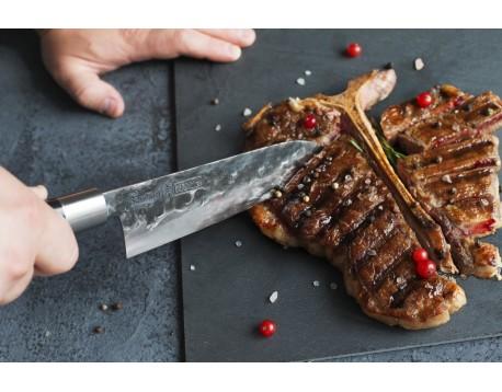 Нож Samura Blacksmith Сантоку, 182 мм