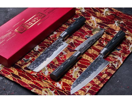 Набор из 3-х ножей Samura Blacksmith