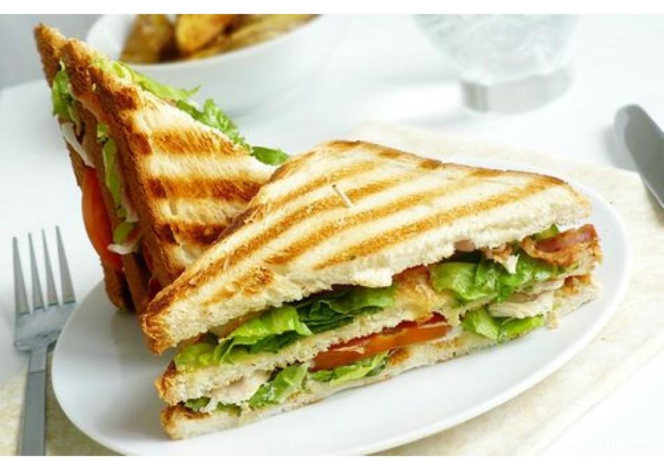 #ГОТОВИМСSAMURA клаб-сэндвич