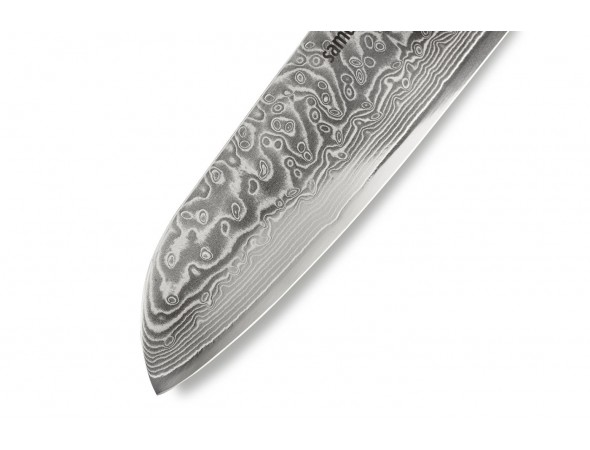 Нож SAMURA 67 DAMASCUS Сантоку, 175 мм