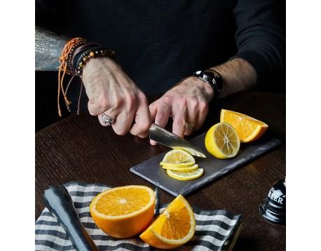 Нож SAMURA 67 DAMASCUS Овощной, 98 мм