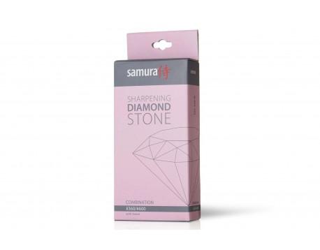 Камень точильный Samura Алмазный комбинированный, #360/#600