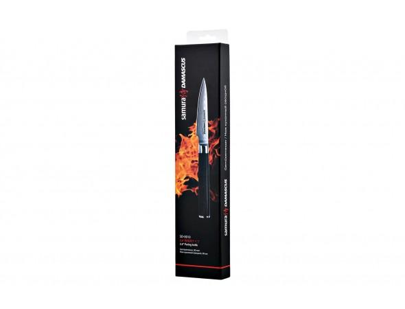 Нож Samura Damascus Овощной, 90 мм