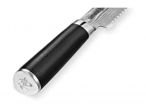Нож Samura Damascus для хлеба, 230 мм