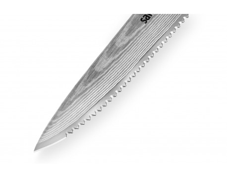 Нож Samura Damascus для томатов, 120 мм