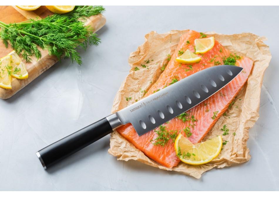 Отличие сантоку от шеф ножа
