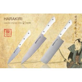 Набор из 3-х ножей Samura Harakiri овощной, накири, шеф