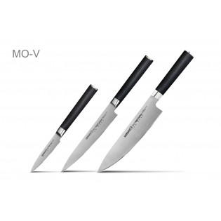 Набор из 3-х ножей Samura Mo-V Овощной, Универсальный 150 мм, Шеф