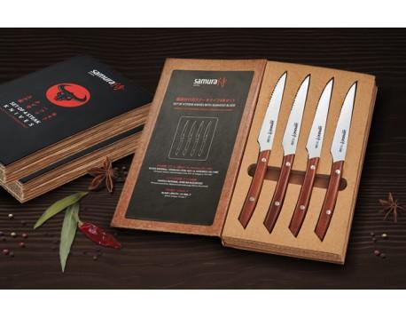 Набор стейковых ножей Samura