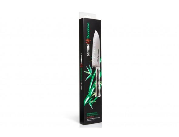 Нож Samura Bamboo Сантоку, 140 мм