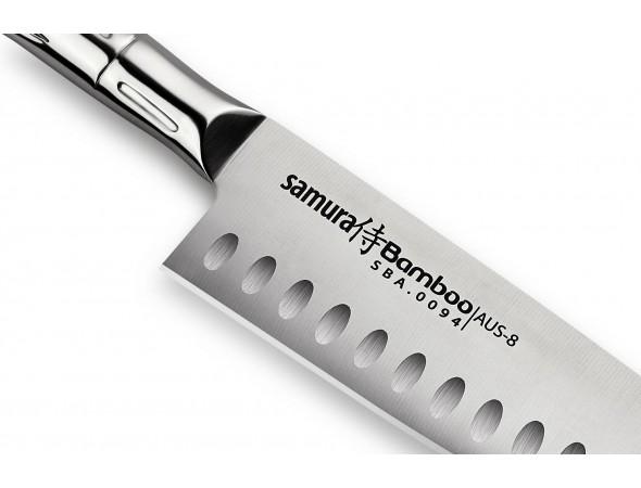 Нож Samura Bamboo Сантоку SBA-0094, 160 мм