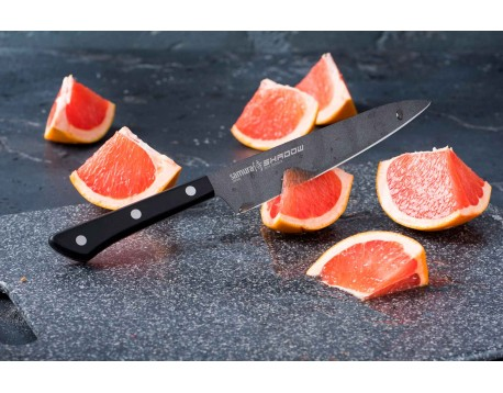 Нож Samura Shadow Универсальный, 150 мм с покрытием BLACK FUSO