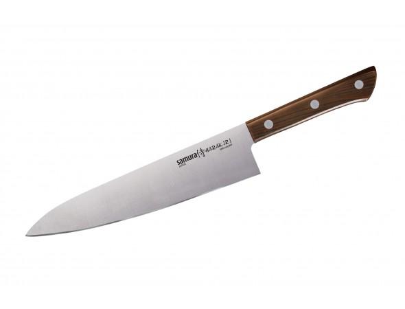 Набор Samura Harakiri 5 ножей SHR-0250 овощной, универсальный, накири, сантоку, шеф