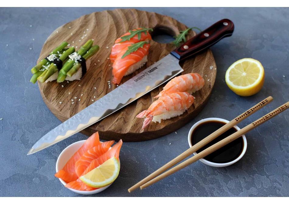 Особенности ножей для суши, роллов и сашими