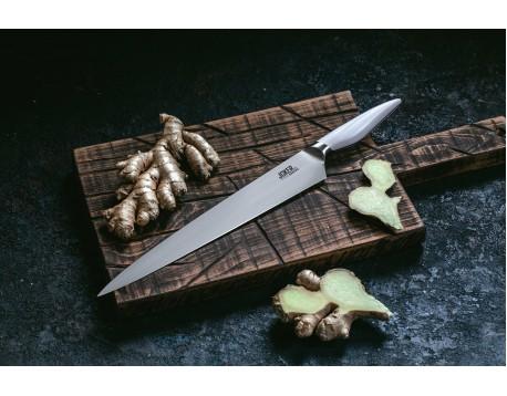 Нож Samura JOKER для нарезки, 297 мм, белая рукоять
