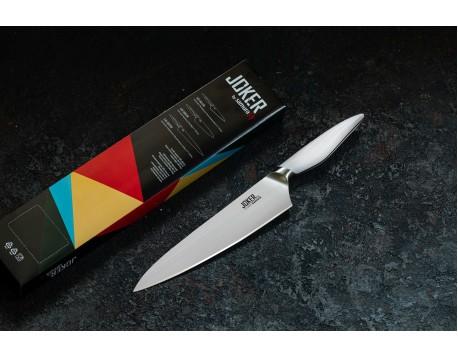 Нож Samura JOKER Шеф, 201 мм, белая рукоять