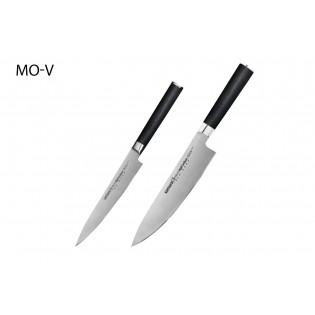 Набор из 2-х ножей Samura Mo-V Универсальный 150 мм, Шеф