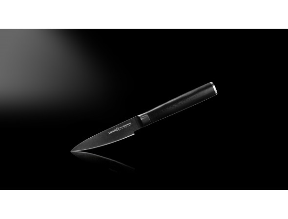 Нож Samura Mo-V Stonewash овощной, 90 мм