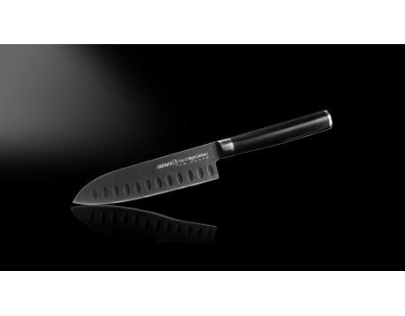 Нож Samura Mo-V Stonewash Сантоку, 138 мм