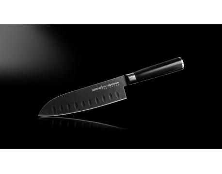 Нож Samura Mo-V Stonewash Сантоку, 180 мм