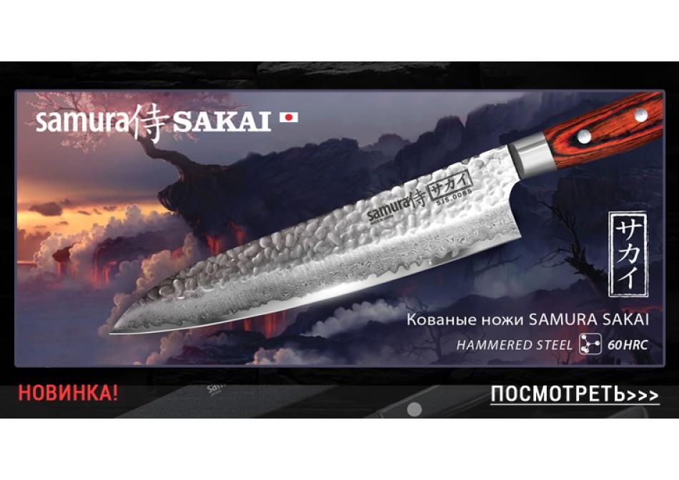 Дамасские ножи Sakai - древние традиции ковки