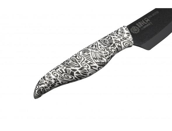 Нож керамический Samura INCA  универсальный, 155 мм, черный
