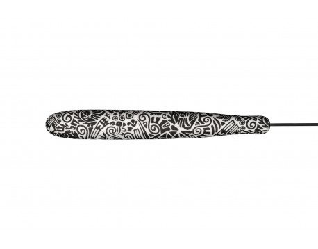 Нож керамический Samura INCA Шеф, 187 мм, черный