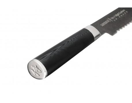 Нож для хлеба Samura Mo-V Stonewash, 230 мм