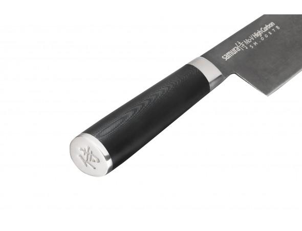 Нож Samura Mo-V Stonewash Гранд шеф, 240 мм