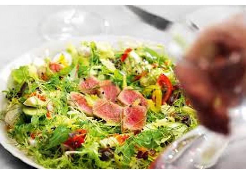 #ГОТОВИМСSAMURA салат нисуаз с базиликом