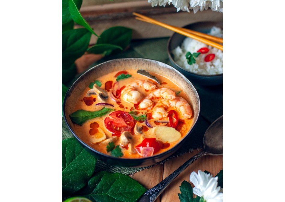 #ГотовимсSamura суп том-ям-кунг